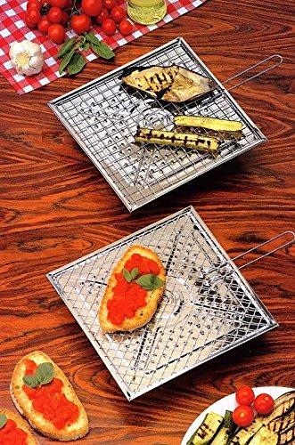 Bistecchiera gratella stagno 25x25cm 18125 colombo