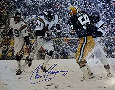 Autographed Chuck Foreman 16x20 Minnesota Vikings Photo