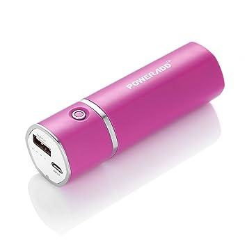 【クリックで詳細表示】(パワーアド)Poweradd Slim2 5000mAhモバイルバッテリー 2.1Aスマート急速充電 小型 iPhone6 6s / iPhone5 5s 5c / iPad / Androidスマホ対応(ローズレッド): 家電・カメラ