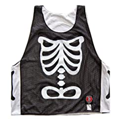 Skeleton Lacrosse Pinnie