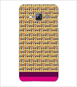 PrintDhaba Owl pattern D-1859 Back Case Cover for SAMSUNG GALAXY A3 (Multi-Coloured)
