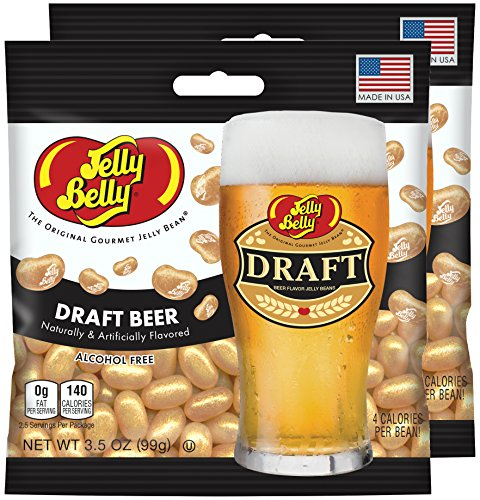 Jelly Belly Draft Beer Jelly Beans, 3.5 oz Bag (Pack of 2) (Jelly Belly Beer Draft compare prices)