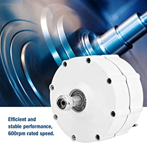 Permanent Magnet Motor Generator for Wind Turbine Three-Phase Alternator (600W48V)