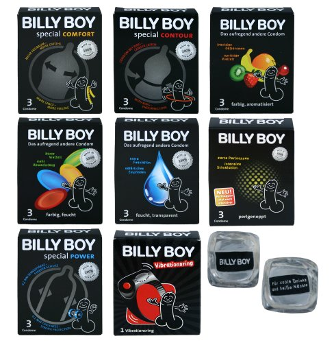 Billy Boy Relax Mix - 10 Billy Boy Sorten