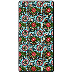 Skin4gadgets TROPICAL FLOWERS PATTERN 15 Phone Skin for XPERIA Z2 (L50w)