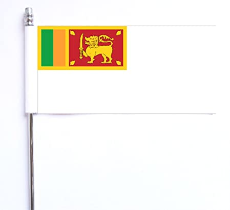 Sri Lanka Navy Ensign Desk Flag