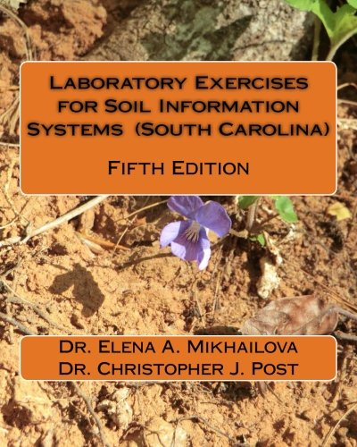 Laboratory exercises for soil information systems south for South carolina soil