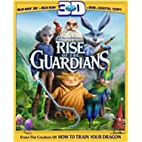 Rise of the Guardians (Three-Disc Combo: Blu-ray 3D / Blu-ray / DVD / Digital Copy + UltraViolet) ~ Chris Pine