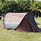 Camping Hiking Pop Up Tent Instant Shelter Easy Setup Quick Foldback Large Size