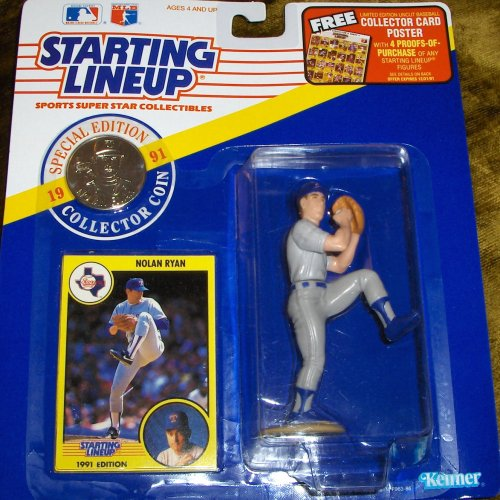 Nolan Ryan 1991 Starting Lineup - 1