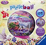 3D Puzzle Ball - 72 Piece - Unicorn by Ravensburger by Ravensburger