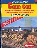 American Map Cape Cod Marthas Vineyard & Nantucket Southeastern Massachusetts: Marthas Vineyard & Nantucket, Southeastern Massachusetts