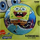 SpongeBob SquarePants Rubber Playground Ball, 5 inches