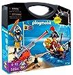 Playmobil - 5894 - Jeu de construction - Valisette pirate et soldat (1) (7)