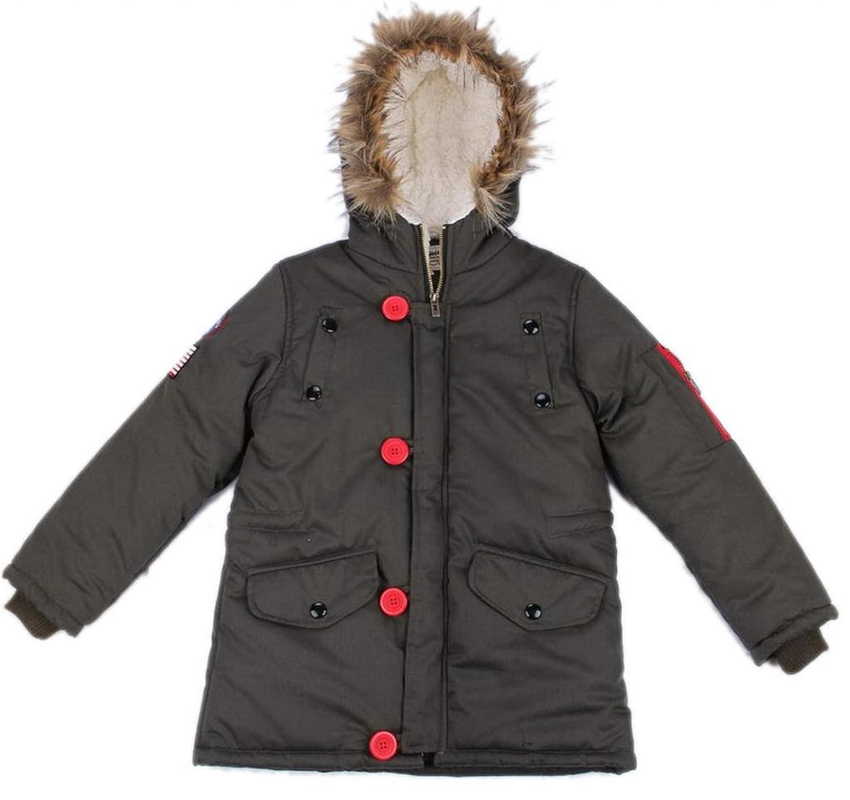 Lukis Kinder Junge Jacke Mantel Winter Kaputze kaufen