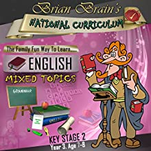 Brian Brain's National Curriculum KS2 Y3 English Mixed Topics (       UNABRIDGED) by Russell Webster Narrated by Brian Brain