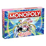Monopoly Sailor Moon Board Game | Based on the Popular Anime TV Show | Custom Sailor Moon Tokens, Money and Game Board | Officially Licensed Sailor Moon Merchandise
