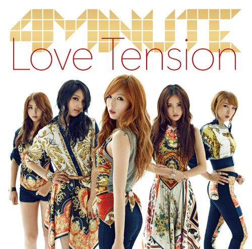 4Minute - Love Tension (Type A) (CD+DVD) [Japan LTD CD] UMCF-9618