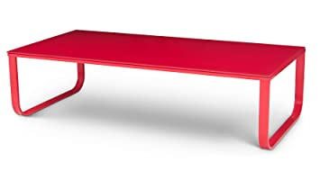 Rojo Coffee Table - Red