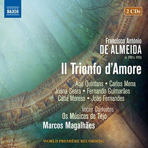 CD : DE ALMEIDA / QUINTANS / VOCES CAELESTES - Il Trionfo D'amore (2 Discos)