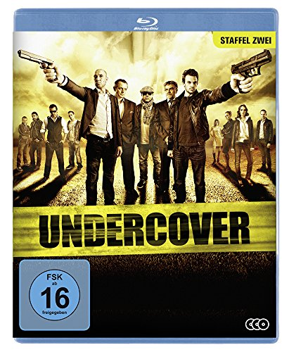 Undercover - Staffel 2 [3 BDs] [Blu-ray]