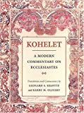 Kohelet: A Modern Commentary on Ecclesiastes (Modern Commentary On)