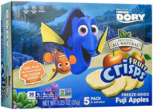 Brothers-ALL-Natural Disney Finding Dory, 20 Count (pack Of 20) (Freeze Dried Fruit Disney compare prices)