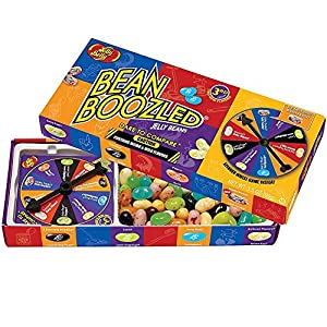 Jelly Belly Bean Boozled Jelly Beans with Spinner Wheel Game, 3rd Edition