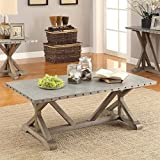 Coaster 703748 Home Furnishings Coffee Table, Driftwood