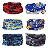 BMC 6pk Cycling Skiing Sport Theme Multifunctional Seamless Bandana Scarf Wrap