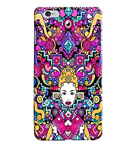Sai APH Printed Hard Back Cover for Apple Iphone 6S