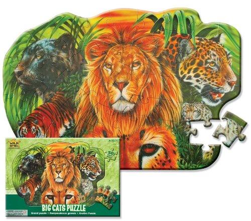 Imagen principal de Wild Republic 64573  - Puzzle, gatos, 50 partes