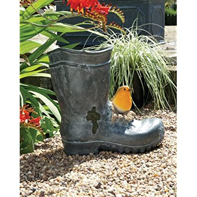 Robin Wellie Boot Planter