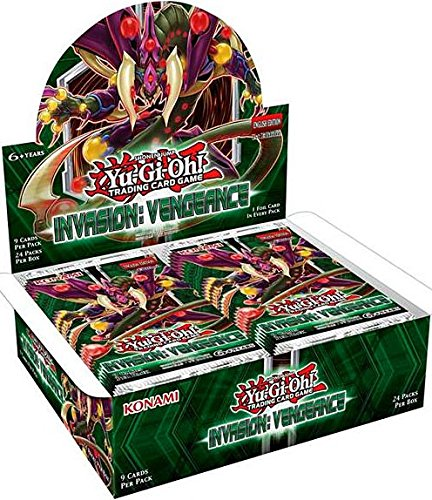 Yu-Gi-Oh: Invasion - Vengeance Booster Display (Yugioh Display Case compare prices)