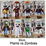 Skylofts Imported 32cm Zombie Soft Stuffed Toy With Guitar By Zombies Vs Plants - For Boys