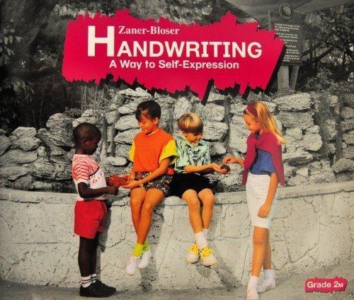 Zaner-Bloser Handwriting - A Way to Self-Expression, Grade 2M PDF