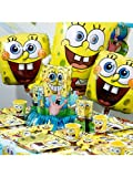 Spongebob Birthday Ultimate Kit Serves 8 Guests