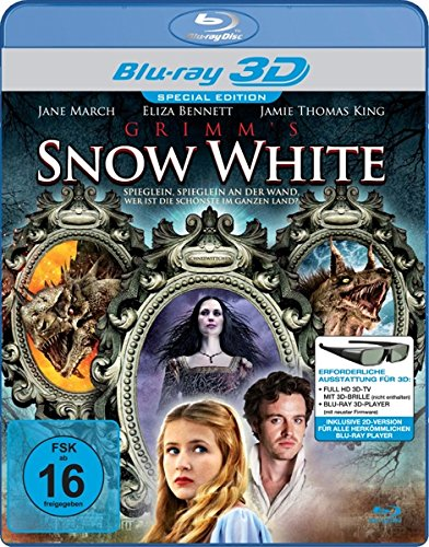 Grimm's Snow White (3d Shutter) [Blu-ray] [Import allemand]