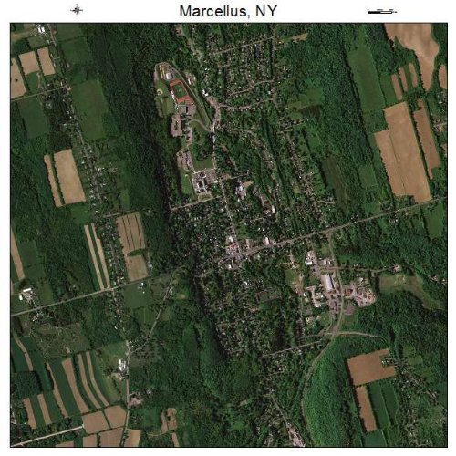 Aerial Photography Map of Marcellus, New York