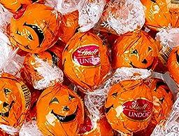 Lindor Halloween Jack-O-Lantern And Ghost Truffles 75 Count, (uscandyonline)