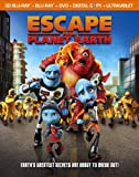 DVD - Escape from Planet Earth (Blu-ray 3D + Blu-ray + DVD + Digital Copy + UltraViolet)