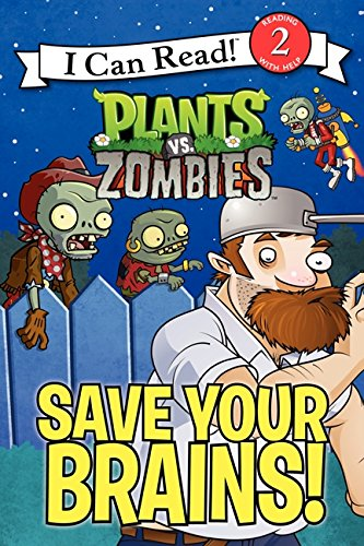 Plants vs. Zombies: Save Your Brains! (I Can Read Level 2) (I Can Read Level 2 compare prices)