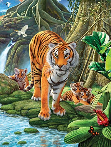 SunsOut Tiger Two Jigsaw Puzzle (500-Piece)