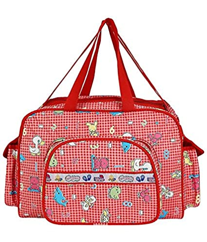 diaper bags designer cheap lehh  Buy Littly Designer Multipurpose Diaper Bag/Mother Bag Large, Pink Online  at Low Prices in India
