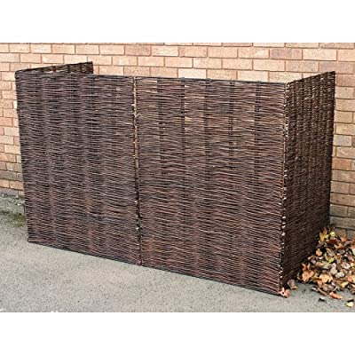 Triple Wheelie Bin Screen