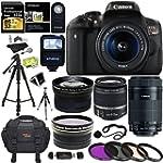 Canon EOS Rebel T6i Digital SLR EF-S...