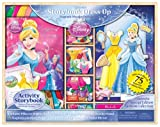 Artistic Studios Disney Princess Storybook Dress Up Magnetic Wooden Doll Set, 75-Piece