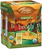61Dc8PczP%2BL. SL160  Pacific Natural Foods Organic Vegetable Broth, 8 Ounce Pouches (Pack of 24)