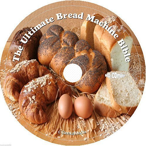 3000 Bread Machine Doughnuts Buns Bagels Biscuits Pancakes Pastry Recipes cd dvd (Kitchenaid Decorating compare prices)