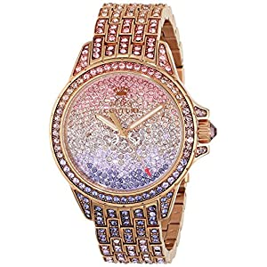 Juicy Couture Women's 1901167 Stella Analog Display Quartz Multi-Color Watch